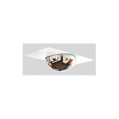 GRAINGER APPROVED Drop In Full Dome Mirror,22 in. dia., D360-22-WP-4