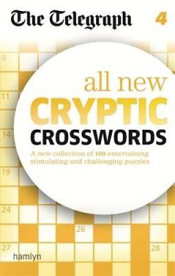 The Telegraph All New Cryptic Crosswords: 4 by The Daily Telegraph 9780600626022