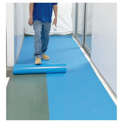 AMERICOVER Fire Retardant Floor Protection, 14 mil, MC402A9 36 x 14 x 150, Blue