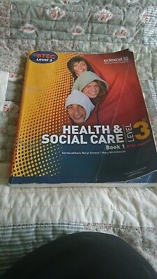 Health and Social Care Level 3 text book