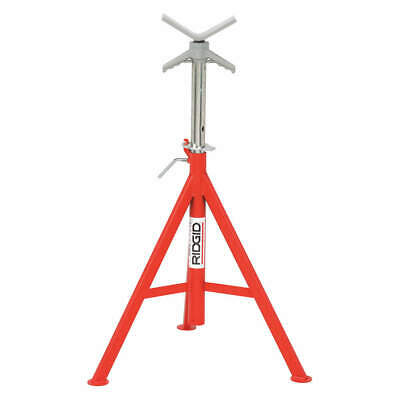 RIDGID Tubular Steel V-Head Pipe Stand,1/8 to 12 In., 56662