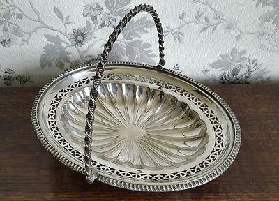 A Victorian Silver Plated Handled Bowl by Walker and Hall
