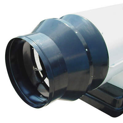 HEAT WAGON Duct Outlet Adaptor for Heater, AR110