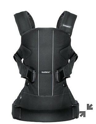 Baby Bjorn Baby Carrier One Black