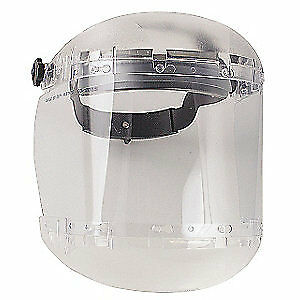SELLSTROM Ratchet FaceshieldAssembly,Clear,Acetate, S38440