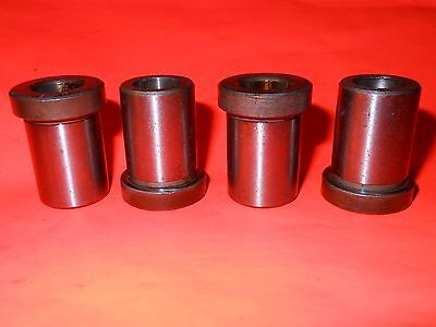 """( Lot of 4 )  31/64"""" Drill Bushing, Type H Precision Drill Jig (Great Value)"""