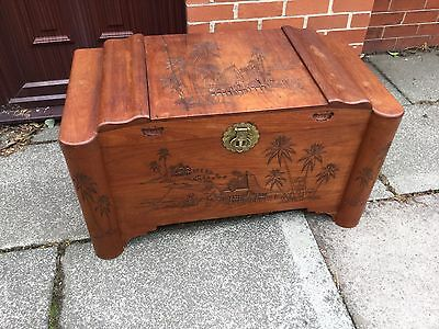 Camphor Trunk Chest Blanket Box