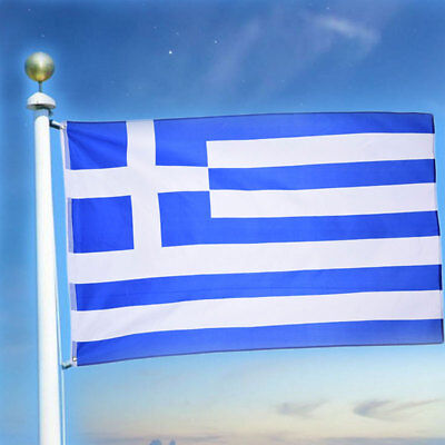 wave 3 x 5Feet Greece country State Flag Ethnic Greek National Brand flag