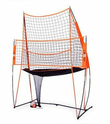 Bownet 11 x 8 Portable Volleyball Hitting Practice Station with Practice Net