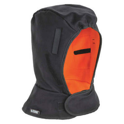 N-FERNO BY ERGODYNE Winter Liner,Shoulder,Banox FR3-Cott/Flc, 6862, Black