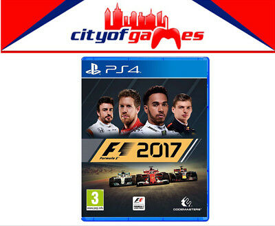 F1 2017 Special Edition PS4 Game New & Sealed Free Express Post In Stock Now