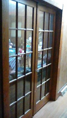 "Antique French Doors 1915, cherrywood, 79"" x 32"" Local Pickup"