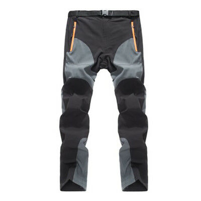 Men's Trouser Climbing Mountain Outdoor Sporting Waterproof Breathable Quick Dry