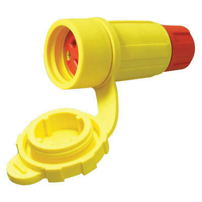 PERMAKL Thermoplastic Elastomer Connector,480VAC,30A,L16-30R,3P,4W, 2624-CW6P-AM