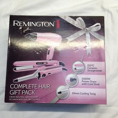 Remington CI5219GPR Hair Care 3 Piece Gift Set