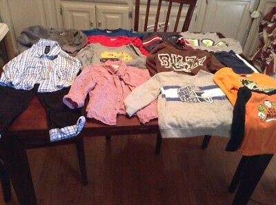 Lot Of Boys Size 3T Clothes For Fall/winter Back To School