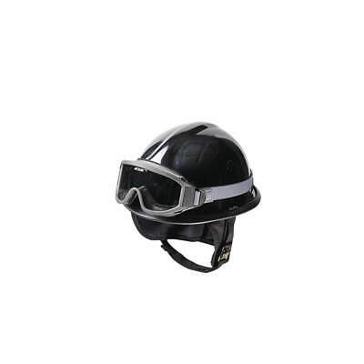 BULLARD Fire and Rescue Helmet,Black,Modern, URXBK, Black