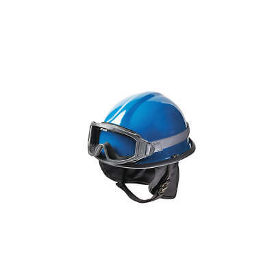 BULLARD Fire and Rescue Helmet,Blue,Modern, URXBL, Blue