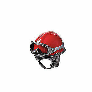 BULLARD Fire and Rescue Helmet,Red,Modern, URXRD, Red
