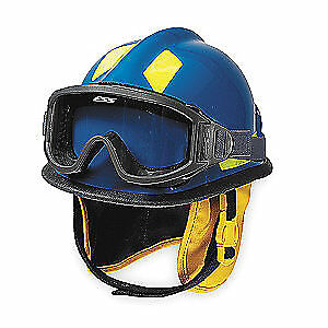 CAIRNS Fire and Rescue Helmet,Blue,Modern, C-MOD-B3B111200