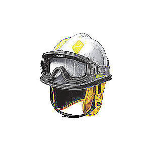 CAIRNS Fire and Rescue Helmet,White,Modern, C-MOD-B4B111200