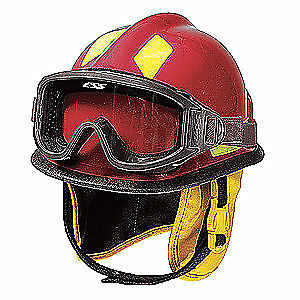 CAIRNS Fire and Rescue Helmet,Red,Modern, C-MOD-B2B111200