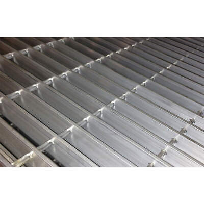 DIRECT METALS Aluminum Metal Grating,Smooth,36In. W,1In. H, 23125S100-B3