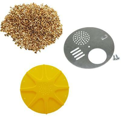 Oreille en laiton 1000pc 2pc EPAULE DE 8 VOIES ESCAPLES 1pcs Beehive Nuc