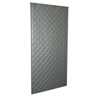SOUND SEAL Quilted Fiberglass Wall Blanket, Noise Absorbing, Gray, 110, Gray