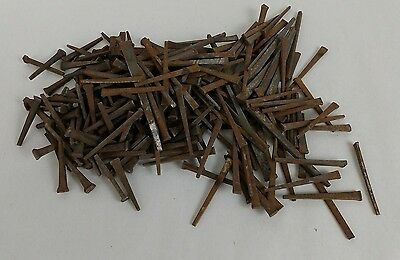"Square Cut Nails Mixed Lot of 1.5"" 2"" 3"" Antique Vintage"