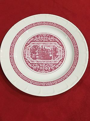 """Vintage Rudesheimer Plate 8 1/2"""" - Made by Heinrich Germany"""
