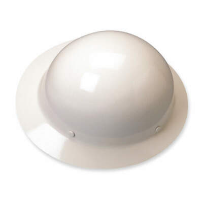 MSA Hard Hat,C, G,White,4 pt. Ratchet, 475408, White