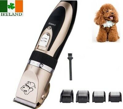 Pet Electric Clipper Dog Grooming Trimmer Rechargeable Wireless P2 Cordless Comb