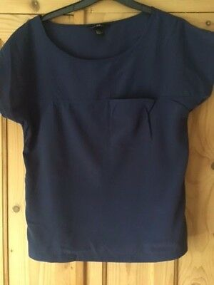 Ladies H and M Top  size 2 eur 32