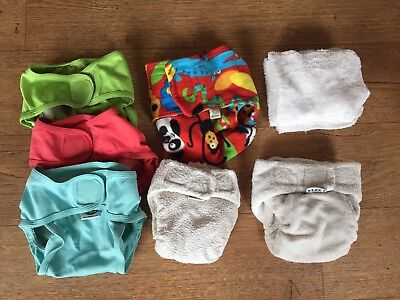 Cloth Nappy Bundle, Little Lamb **USED**