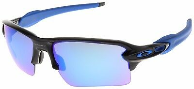Oakley Flak 2.0 XL Sunglasses OO9188-23 Polished Black | Sapphire Iridium | BNIB