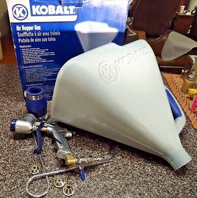 KOBALT - Gravity Fed Paint Sprayer/Air Hopper Gun - Model #SGY-AIR84TZ