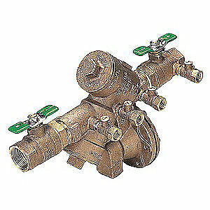 ZURN WILKINS Reduced Pressure Zone Backflow Preventer, 14-975XL2