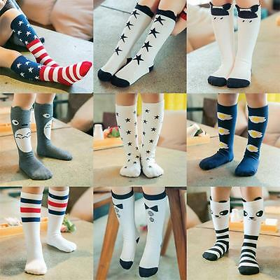 Baby Toddlers Girl Knee High Cute Animals Socks Tights Leg Warmer Stockings USDH