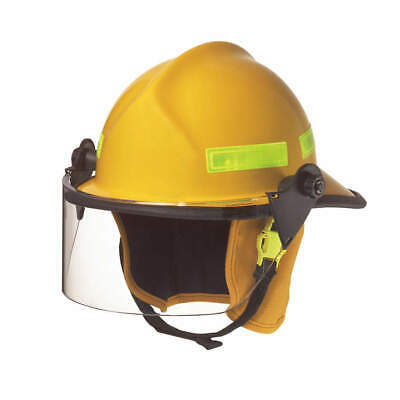 CAIRNS Fire Helmet,Yellow,Modern, 660CFSY, Yellow