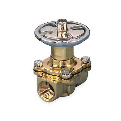 ASCO Air Operated Valve,2-Way,NC,3/4 In,FNPT, P210D009