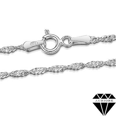 Singapore Chain Necklace - Real 925 Sterling Silver - 16-30 in + 1.70-3.30 mm