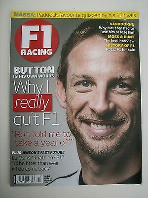 F1 Racing Magazine for the Month of November 2016 (No. 249) Very Good Condition.