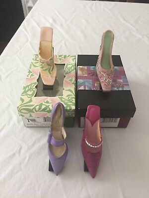 Just The Right Shoe Lot Of 4 Spring And Summer Collection