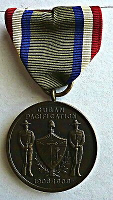 Numbered Army Cuban Pacification  Campaign Medal