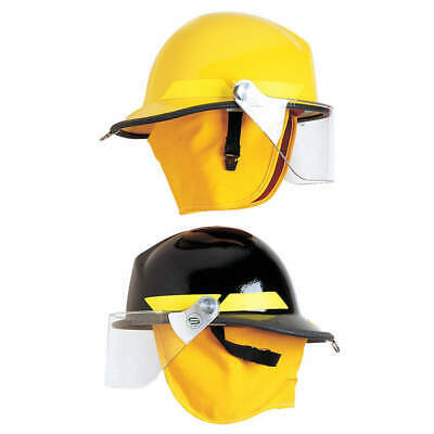 BULLARD Fire Helmet,Yellow,Modern, FXSYL, Yellow