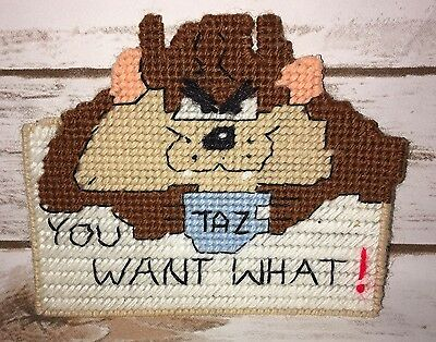 Handmade Looney Tunes TAZ Magnet Funny You Want What!  Warner Brothers