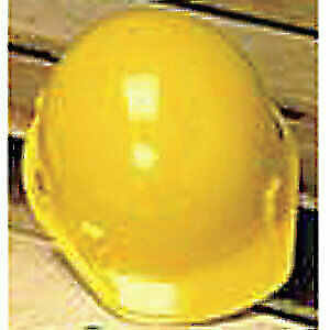 MSA Hard Hat,C, E,Yellow,4 pt. Ratchet, 475378, Yellow