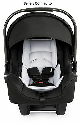Nuna Pipa Infant Car Seat and Base. Color: Night (NEW 2017 Sealed)