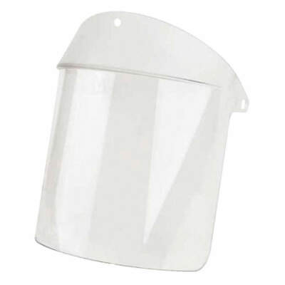 OBERON COMPANY Faceshield Visor,Polycarb,Clr,8x14in, 028AFH+BOX